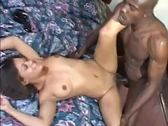 Monster black meat in hotel sex