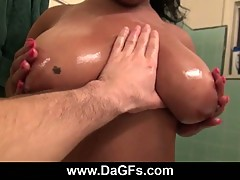Laylani Star oils up her big ass