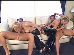 Gonzo group sex gives fun