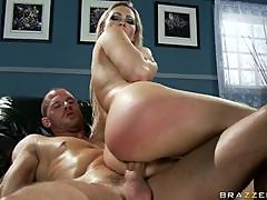 Busty Anal Blonde Abbey Brooks Gets Her Big Ass Oiled and Fucked
