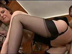British housewife fucked in her kitchen