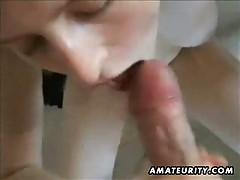 Hot girlfriend in an intense homemade fuck video