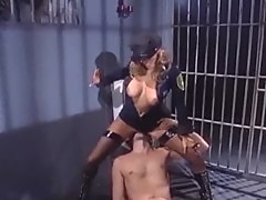 Female cop seduces a male www.streamporn.Ru