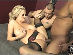 Katie Kox getting laid for a big black cock