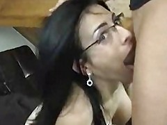 Horny french Bianca deepthroat his boyfriend
