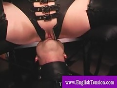 Domina gets pussylicked while queening