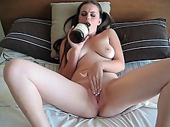 Teen Drunk Pussy Play