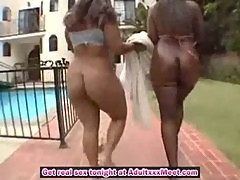 Two big ass chicks