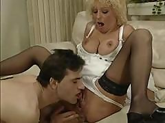 Blonde Colette Sigma Gets Licked And Fisted And Blows His Rod