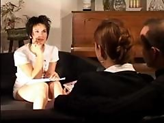 Brunette French Girl Gets Her Pussy And Ass Fisted By Another Girl
