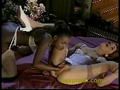 Lucky guy fucks two sexy girls pt.1