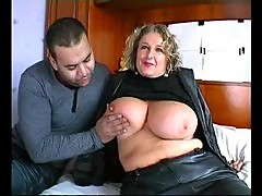 French Busty Mature Woman With Several Guys Part 2