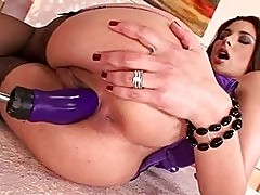 Bad girl Zafira loves fucking her thick wet pussy