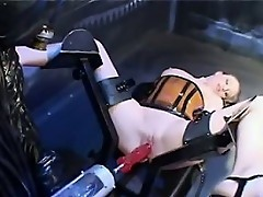 Girl Is Fucked By A Power Tool