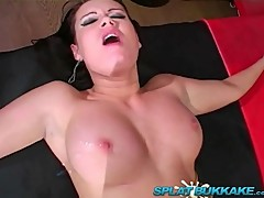UK Pornstar Tanya Cox gangbanged