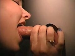 Girl at Gloryhole