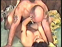 Amateur couple in hot screwing