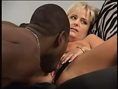 interracial with hot milf blonde