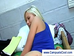 College girl fingers another girl