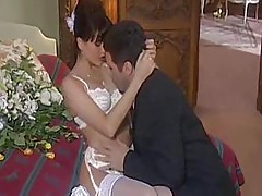 Brunette Brides Get Boned