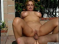 Sexy milf Rebecca Bardoux getting her sexy mom cunt slammed hard
