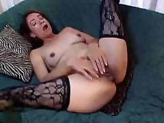 Brunette Bitch Gets Nailed Hard On The Sofa By A Hard Cock