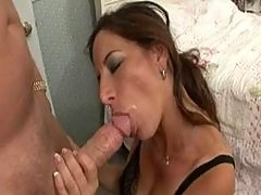 Sexy Milf fucked on the bed