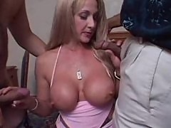 Sexy mature Lexi takes two