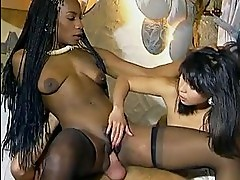 German fuckfest with black midget