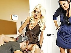 BIG TIT BLOND CHEATING SLUT MILF PORNSTAR GETS ANALLY FUCKED