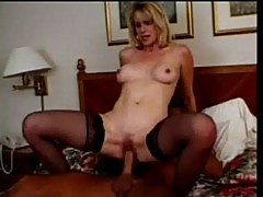Claire loves the taste of warm jizz at cock loving moms