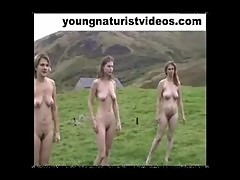 naked girls in public exercise