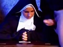 Horny Nun Gets Fucked Hard By Two Alter Boys Cocks For Dp Action