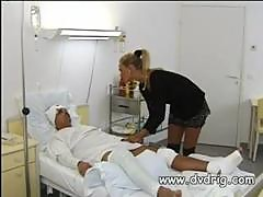 Horny Nurses Take Advantage Of Patient With..