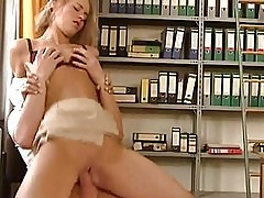 Secretary Whores That Love Anal Sex Have Some Office Pussy P...