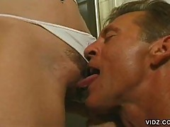 Naughty lee ann gets carpet licked