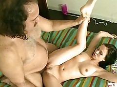 Young slut is pounded