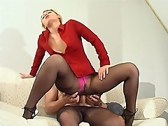 Amelia&Peter amazing pantyhose video