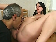 Loaded hottie screws man cock in her shithole