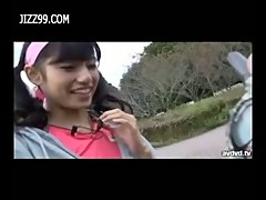 Cute teen exposed sex outdoor
