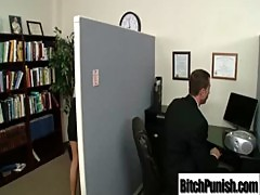 Busty Pornstars Get Punished And Fucked video-09
