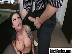 Hot Pornstar Getting Hard Punishment clip-21