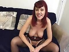 Sexy Mature Coquette Thinks About Good Cock And She Gets One
