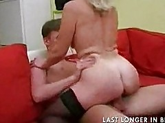 Granny with saggy tits gets fucked part2