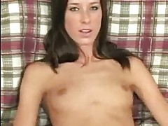 brooke fingering her tight pussy