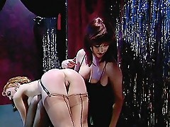 Sexy Strippers Spanking Each Other's Asses