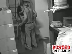 Storage Room Sex Caught By Security Cam