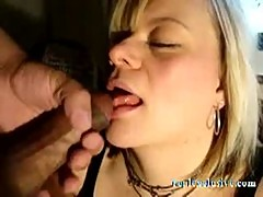Agneta 40 years sucking First Black Cock