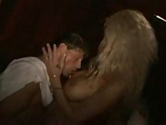 Wife fucks stranger in a swinger club