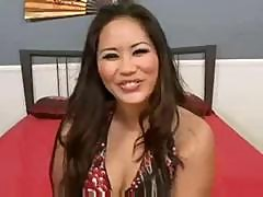 Jessica Bangkok Fucks On The Couch